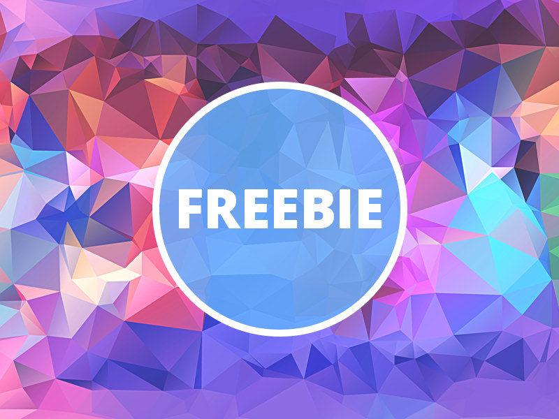 Free Polygonal Background For You