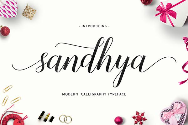 Free Sandhya Script Font