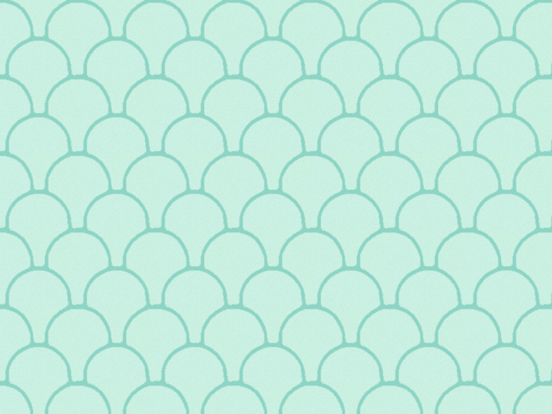 Free Seafoam Fish Scale Pattern