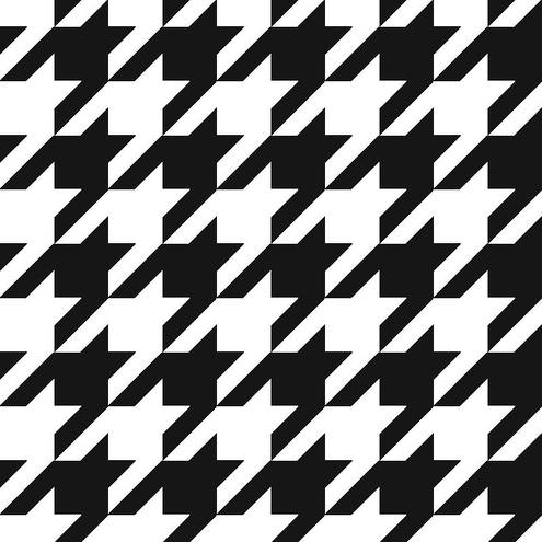 Free Seamless Vector Houndstooth Pattern