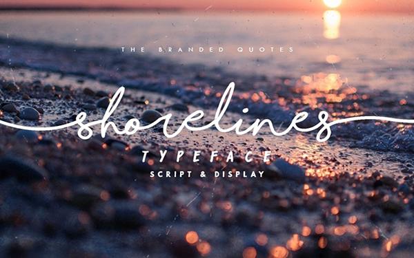 Free Shorelines Script Font