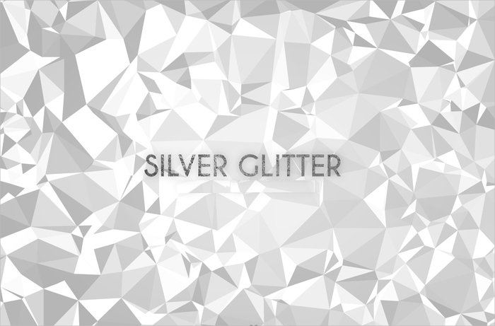 Free Silver Low Poly Vector Pattern