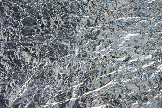 Free Siver Foil Texture Download