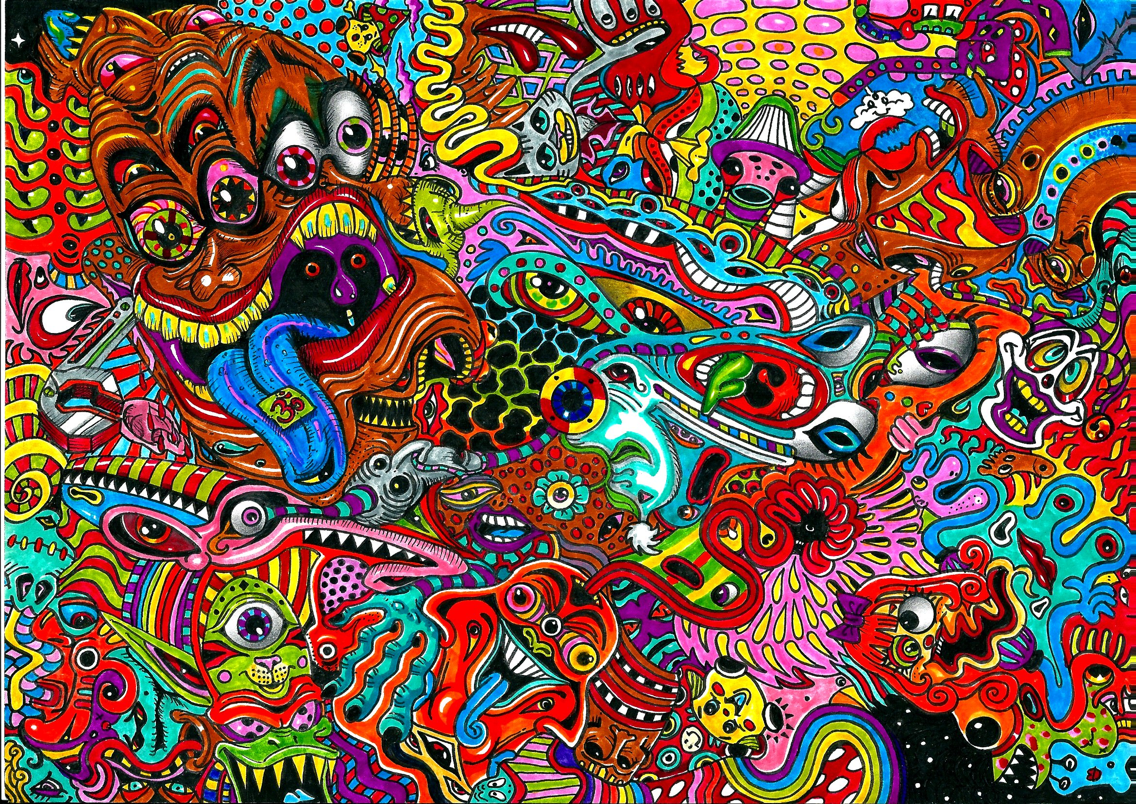 Free Trippy Wallpaper For Download
