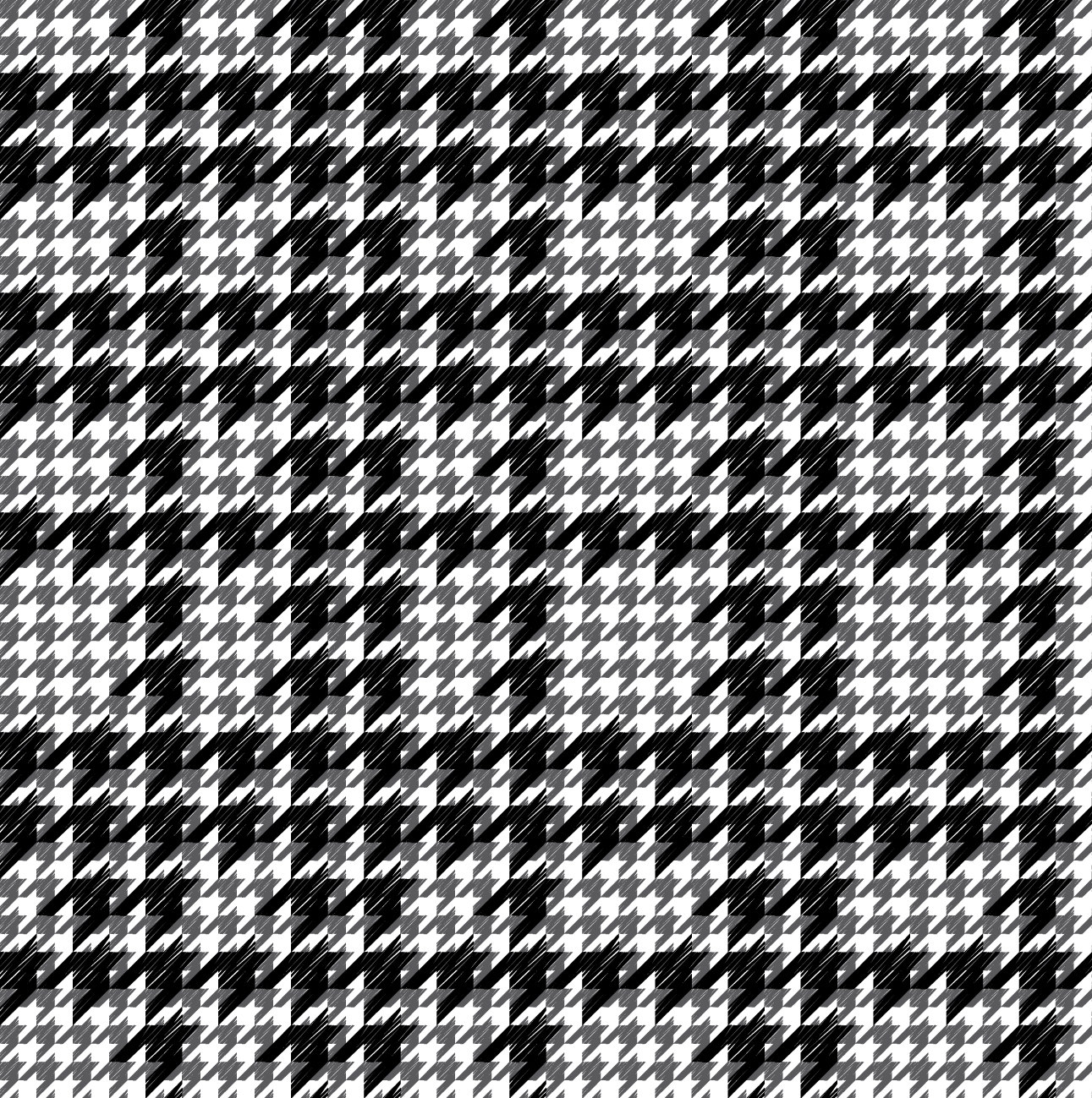 Free Vector Black and White Houndstooth Patterns