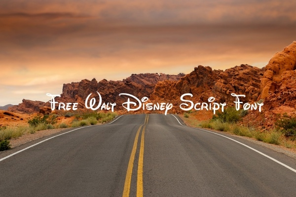how to download disney font
