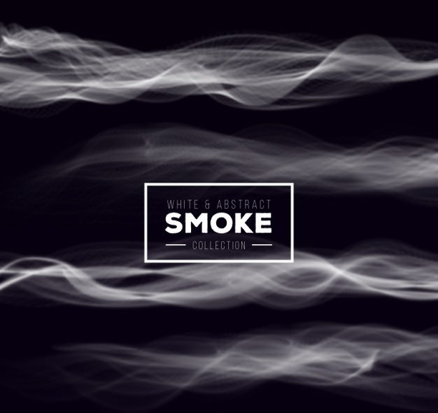 Free White Abstract Smoke Background