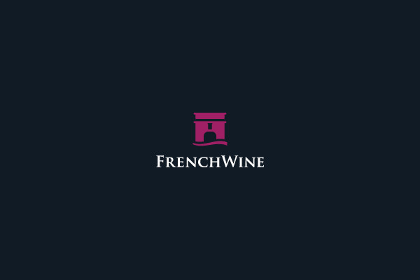 French Wine Logo Design
