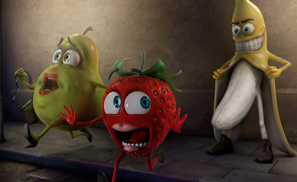 Fruits Funny Wallpaper