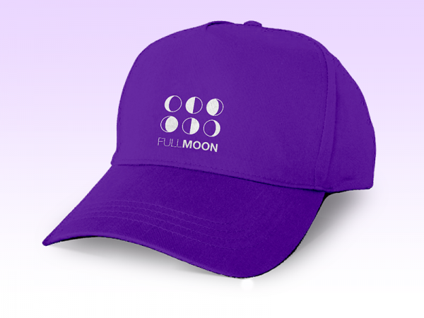 Full Moon Baseball Cap Mockup
