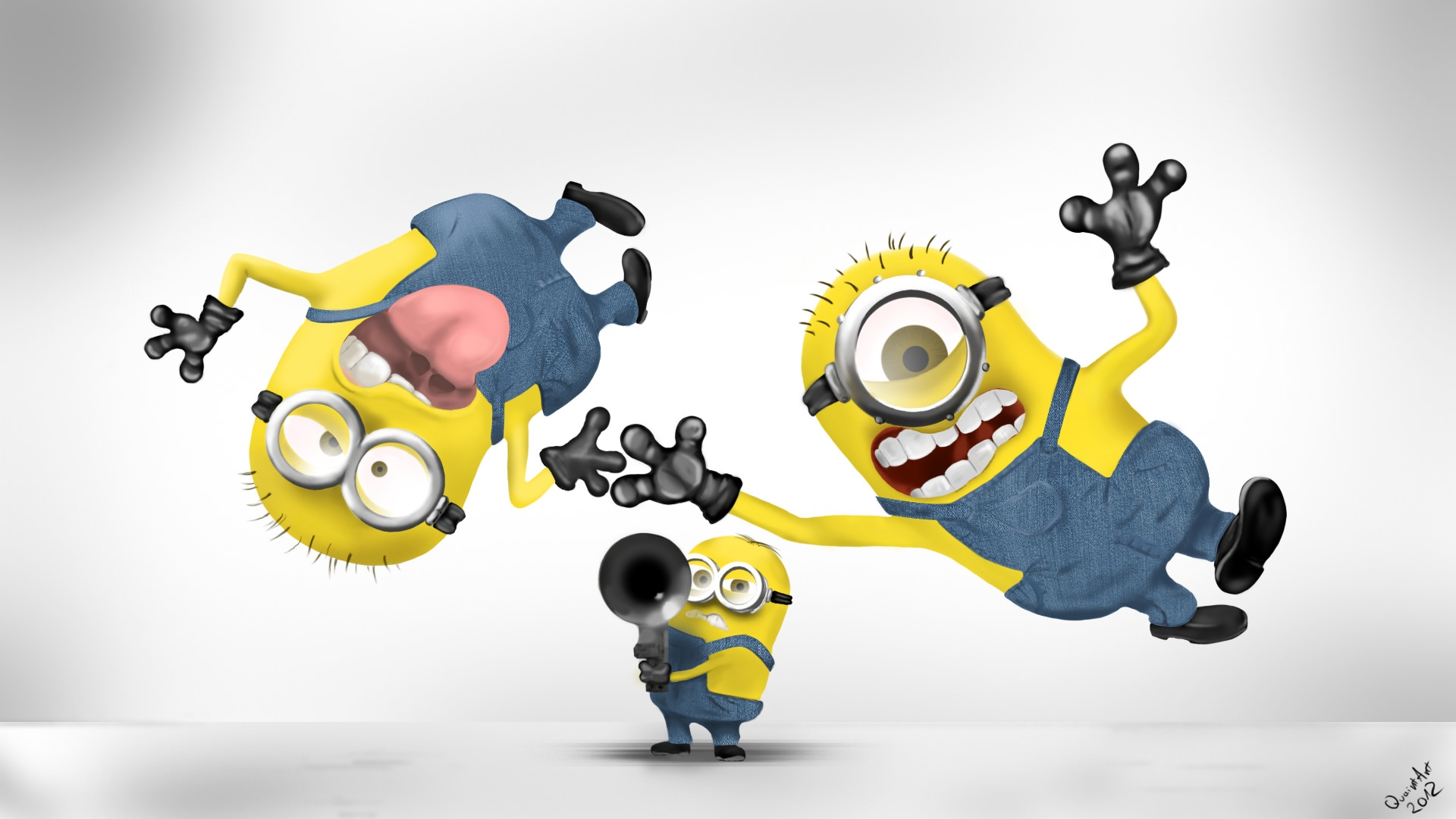 Funny Minions HD Wallpaper