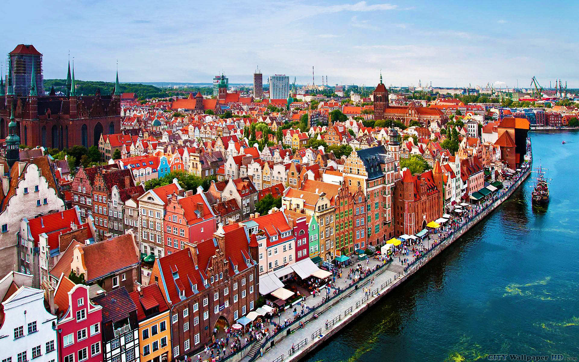 Gdansk Poland Wallpaper