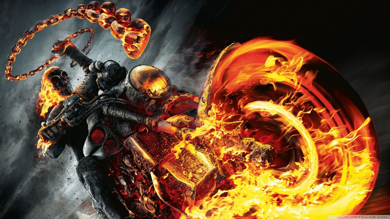 Ghost Rider Spirit of Vengeance Wallpaper