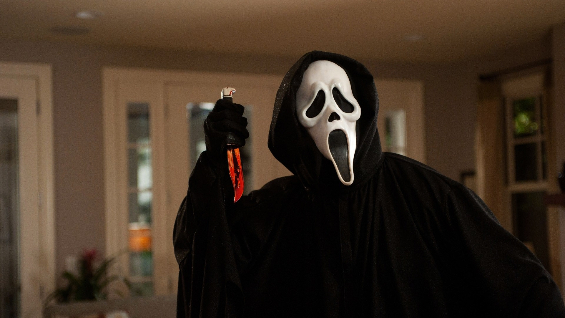 Ghostface in Scream Wallpaper