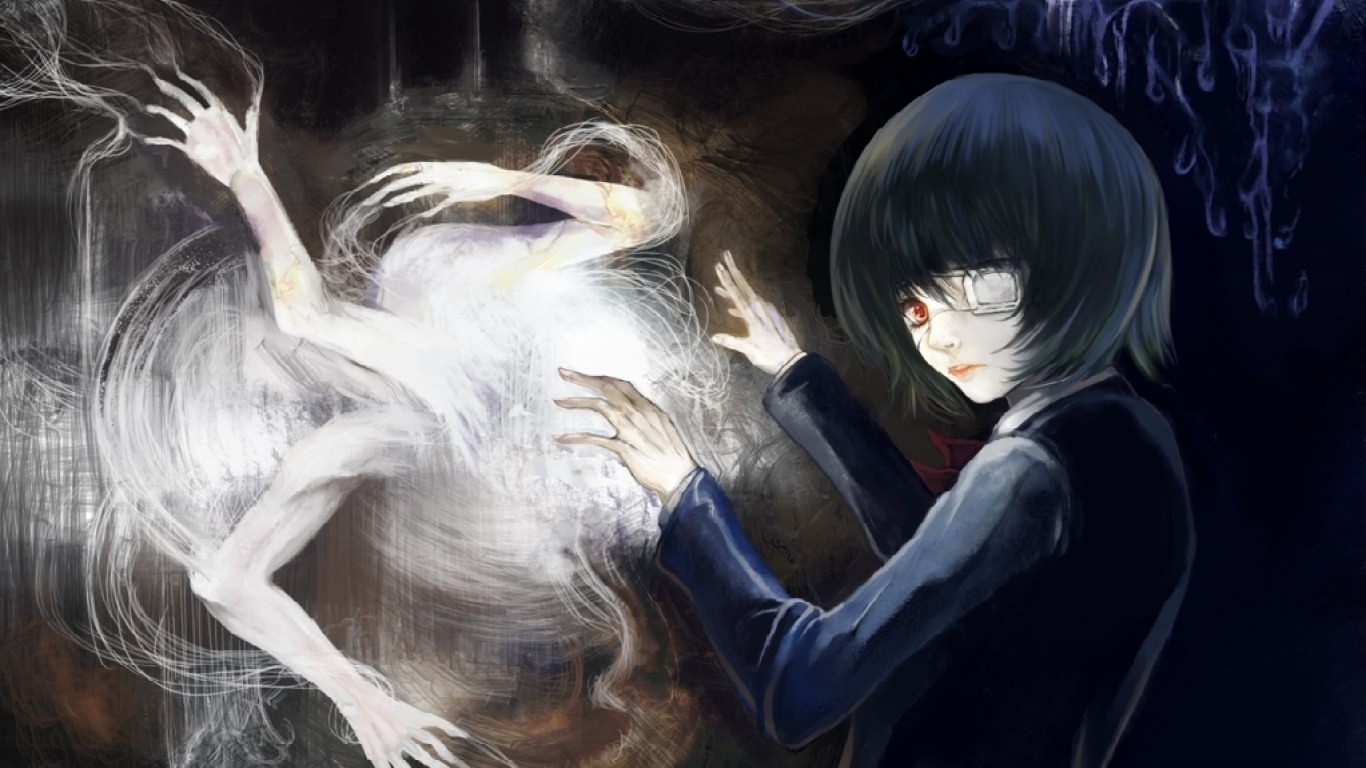 Girl Waking Spirits Ghost Wallpaper