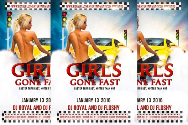 Girls Gone Fast Racing Flyer