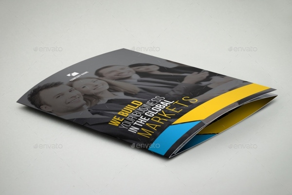 Global Marketing Course Trifold Brochure