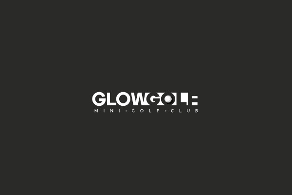 Glow Golf Sport Logo Design