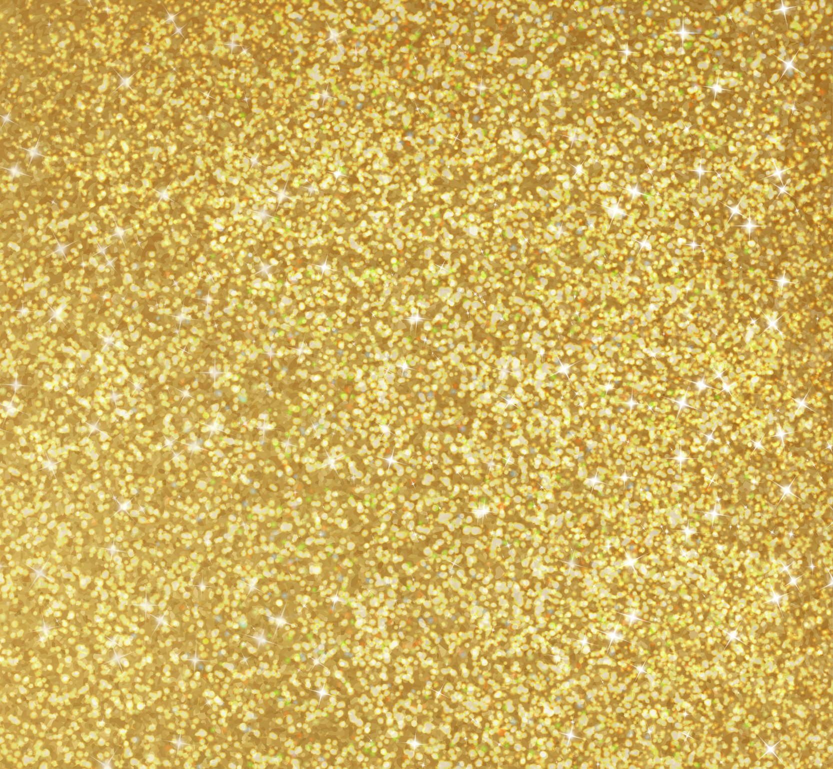 Gold Glitter Texture Free Vector