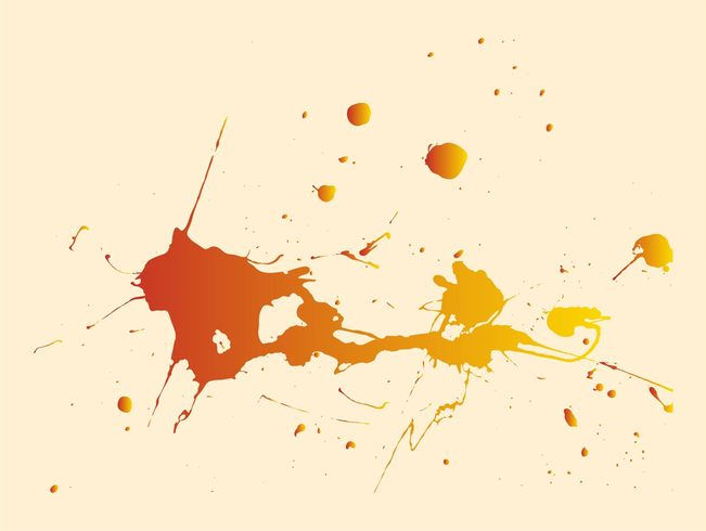 Gradient Paint Splatter Texture