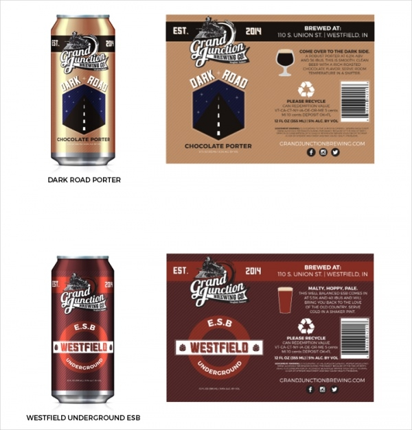 Grand Junction Can Packaging Design