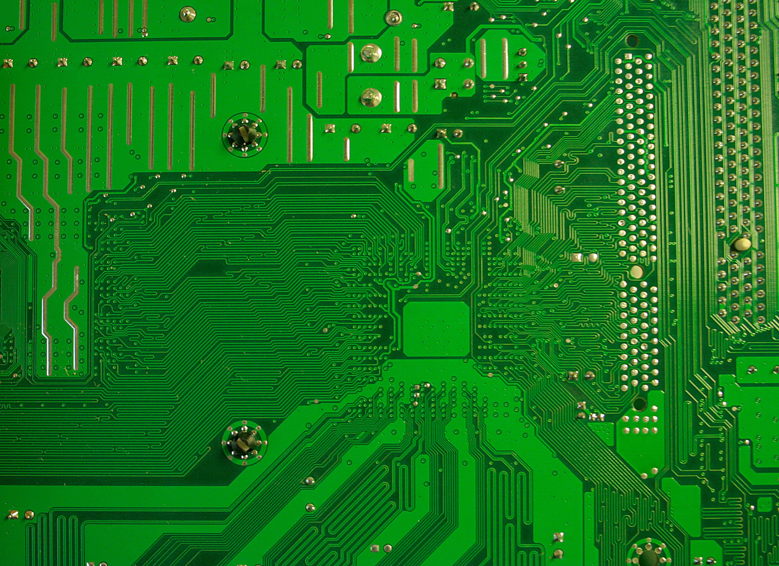 Green Motherboard Texture