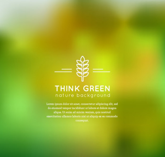 Green Nature Background For free