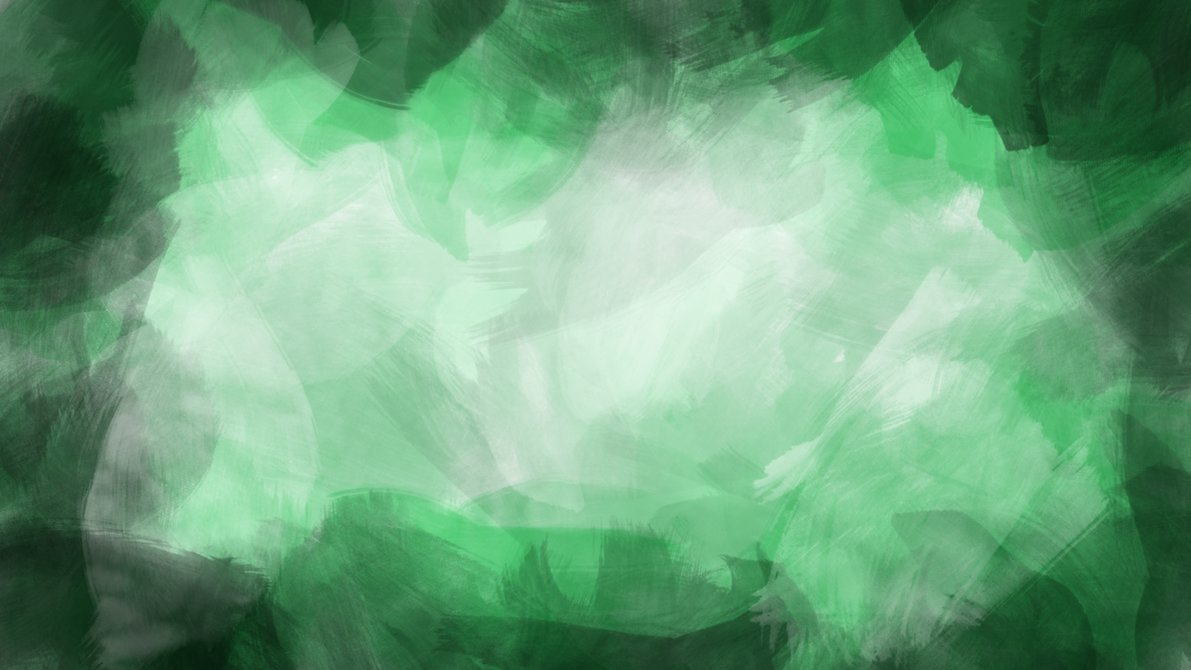 Green Watercolor Brush Background