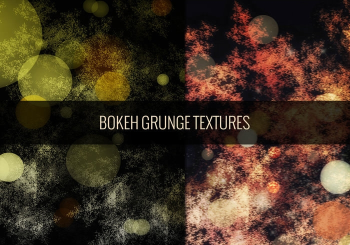 Grunge Light Bokeh Textures