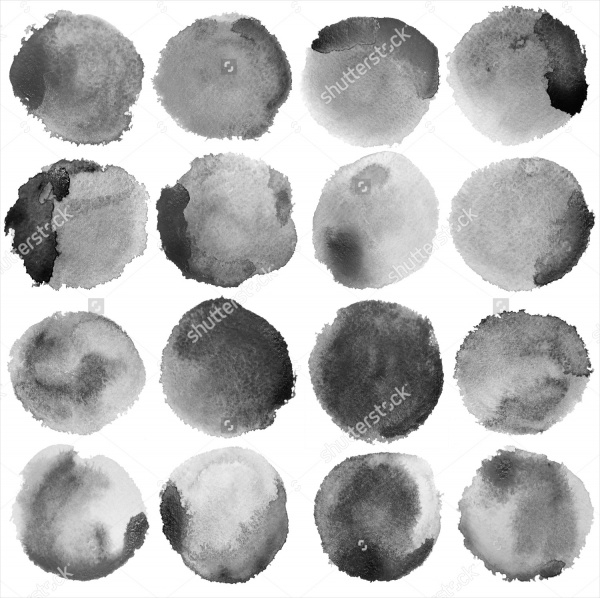 Grunge Shape Brushes Photoshop