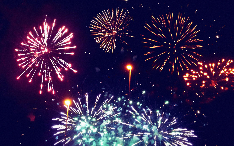 HD Fireworks Wallpaper