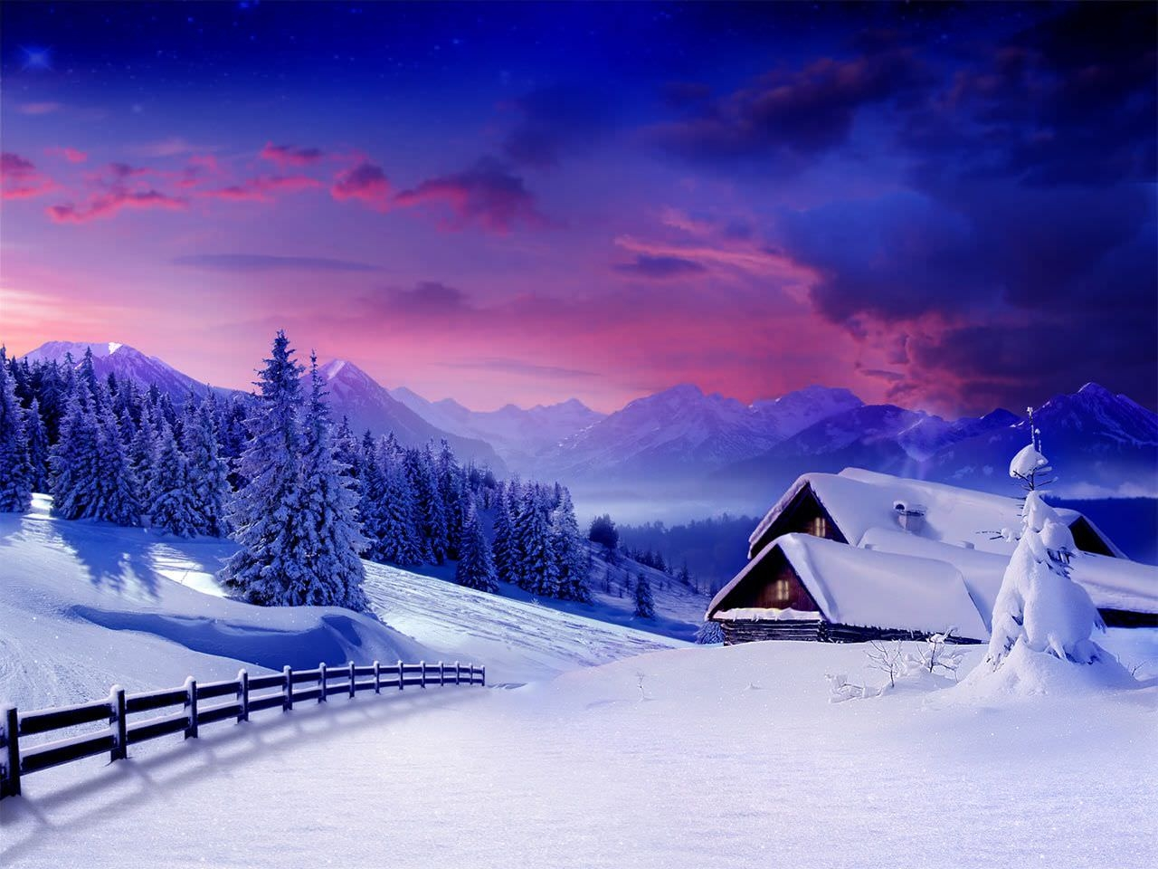 hq winter snow backgrounds