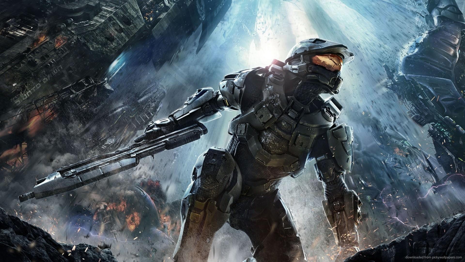 Halo 4 Cover Art Wallpaper