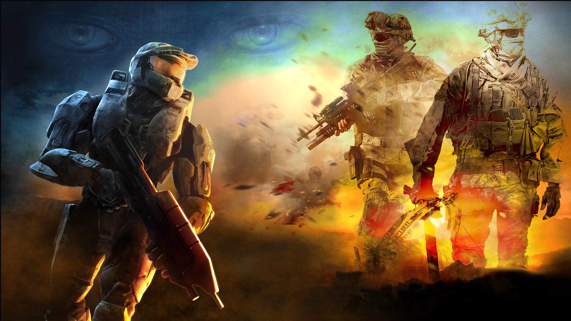 Halo Modern Warfare Wallpaper
