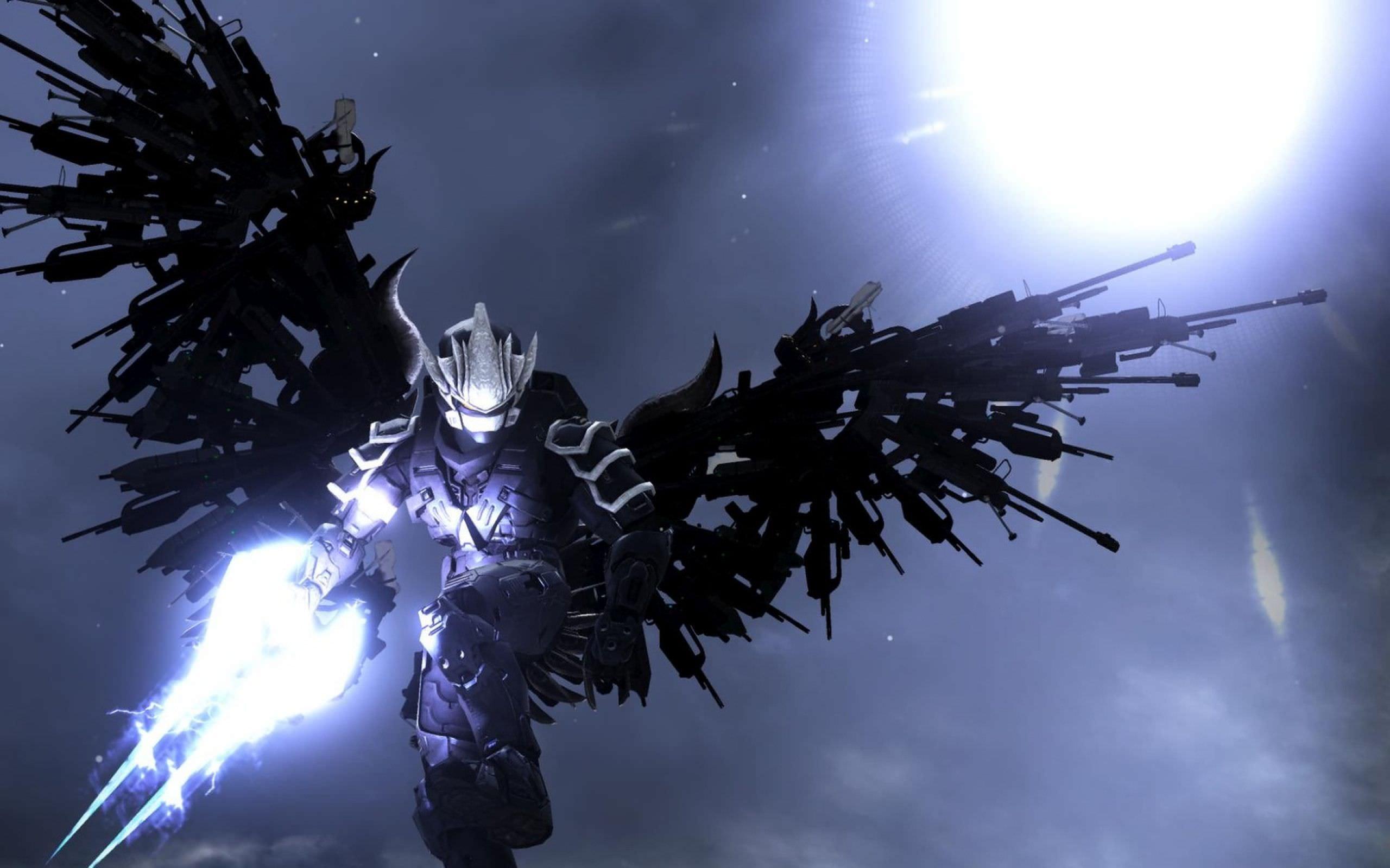 Halo Weapon Wings Wallpaper