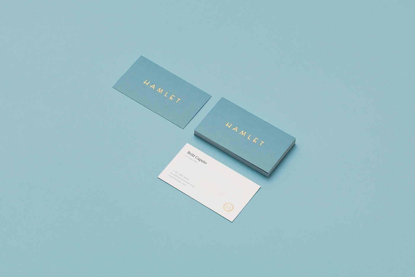 Hamlet Identity Personal Card