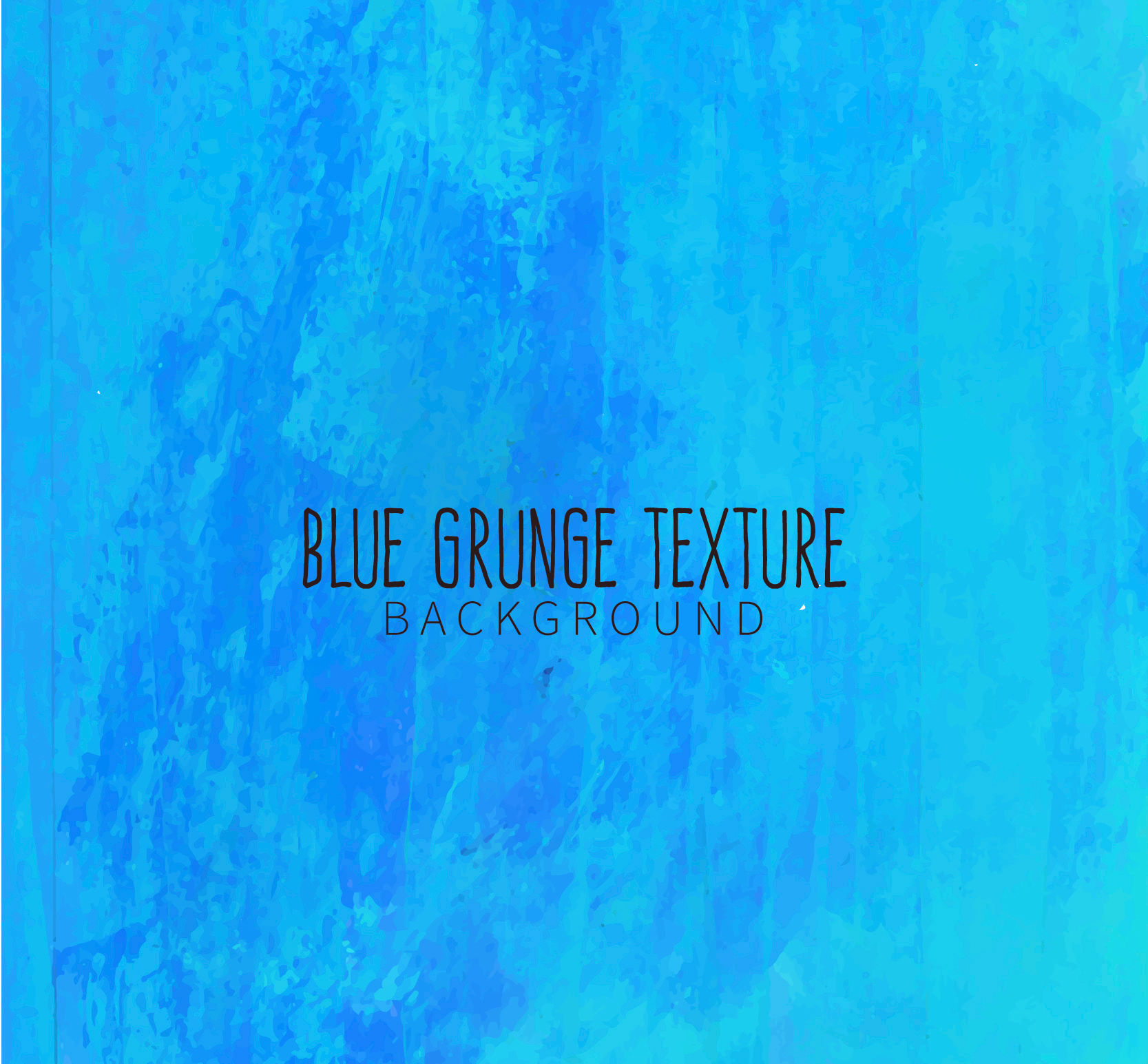 Hand Painted Blue Grunge Background