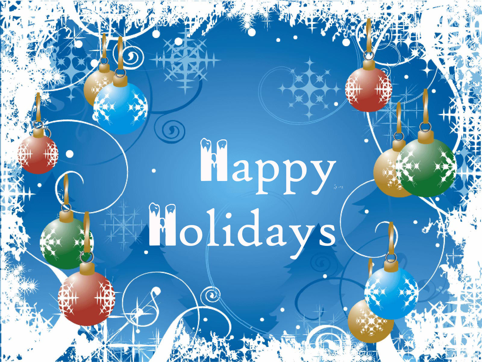 Desktop wallpapers holiday free - Happy Holiday Wallpaper