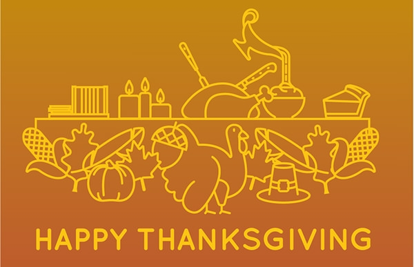 Happy Thanksgiving icons