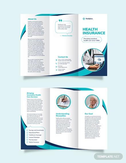 FREE 22+ Insurance Brochure Designs in PSD | Vector EPS ...