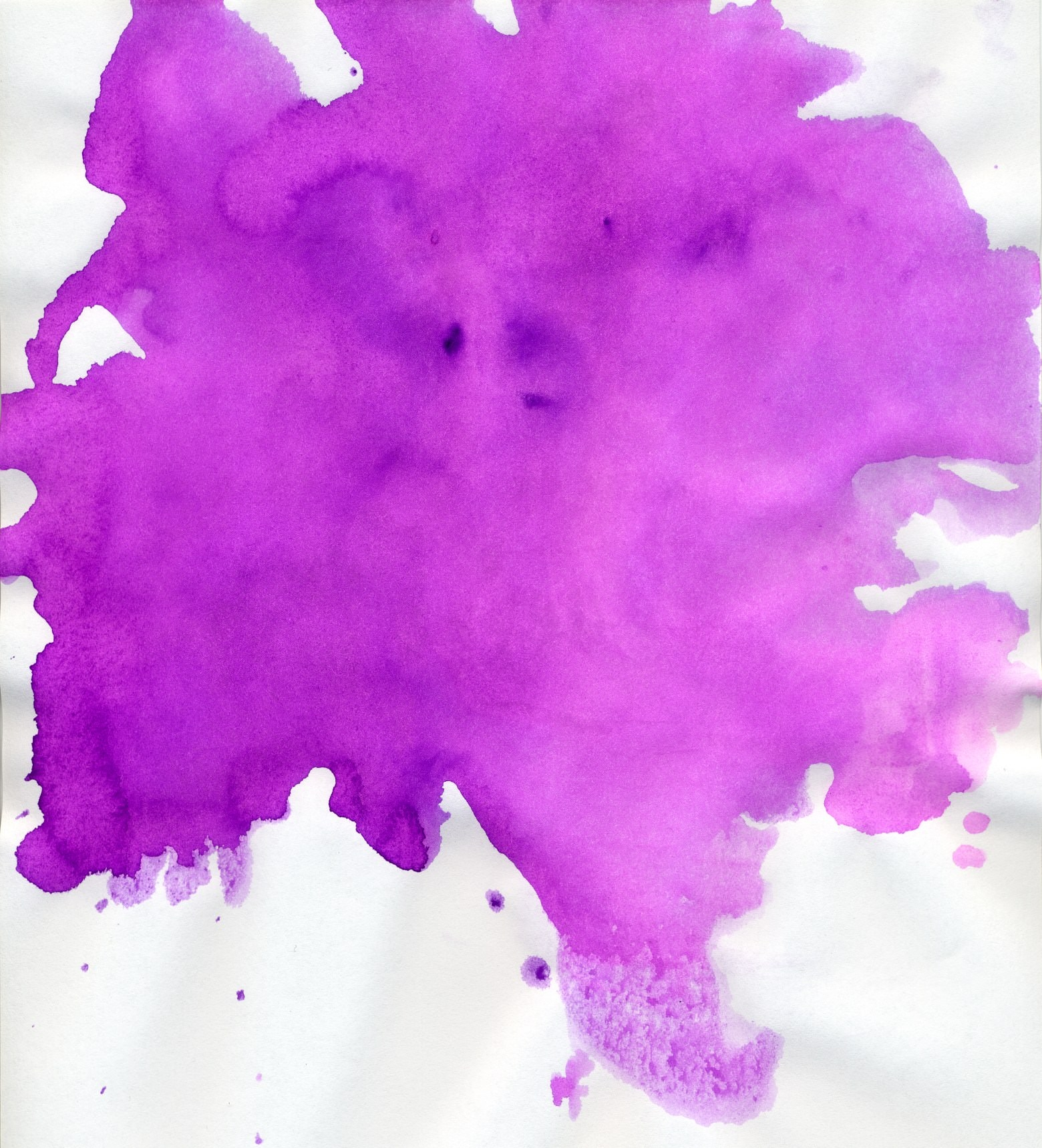 High Res Purple Watercolor Paint Texture Background