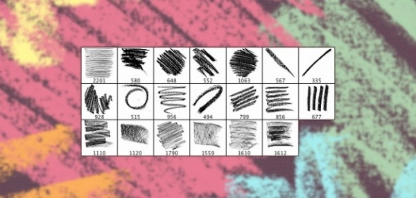 High Resolution Oil Photoshop Brushes
