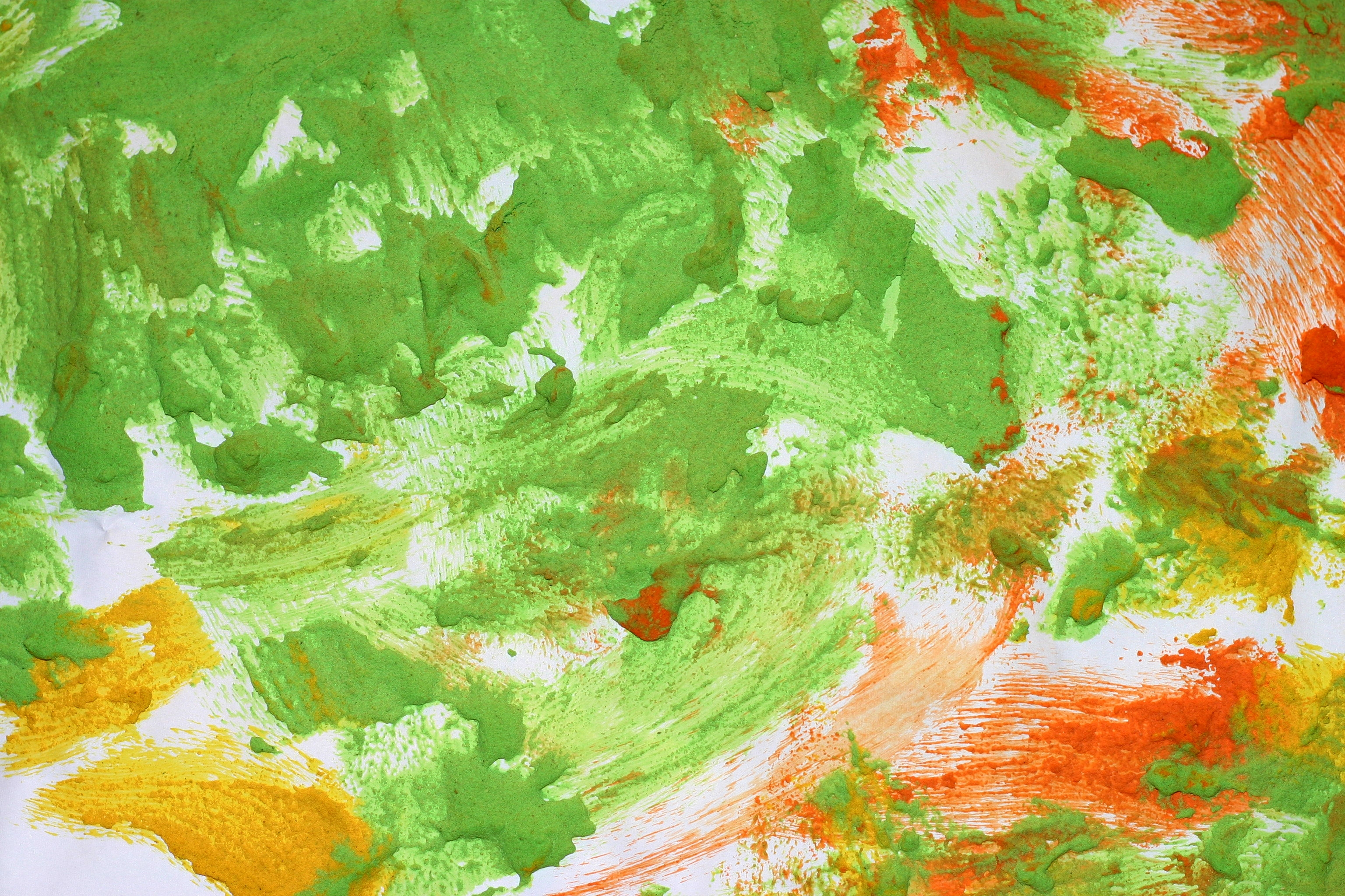 high resolution green painting texture