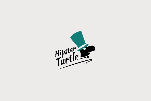 Hipster Turtle Logo For Download