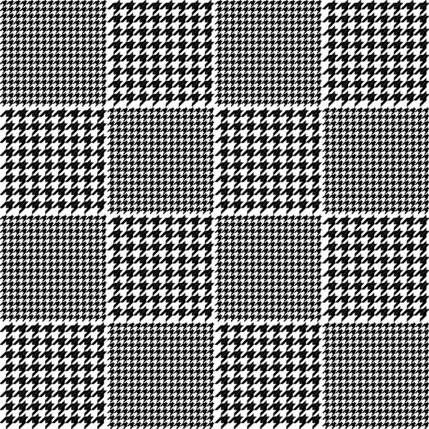 Houndstooth Plaid Patterns