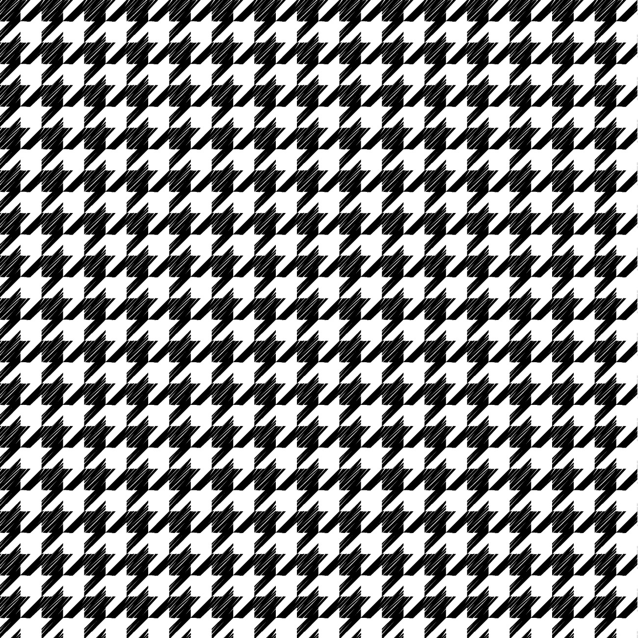 Houndstooth Seamless Vector Patterns
