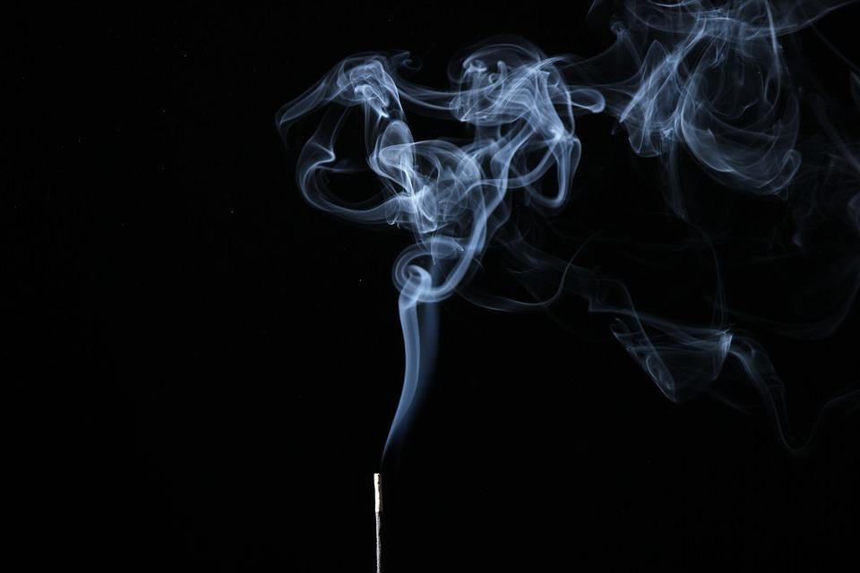 Illuminated Smoke Background For Free