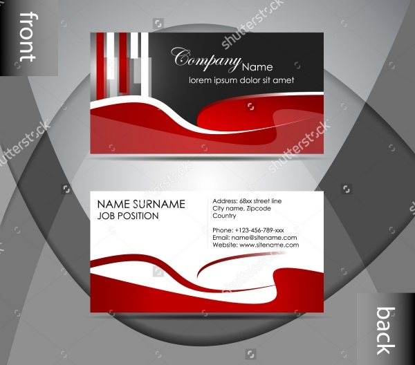 Information Personal Card