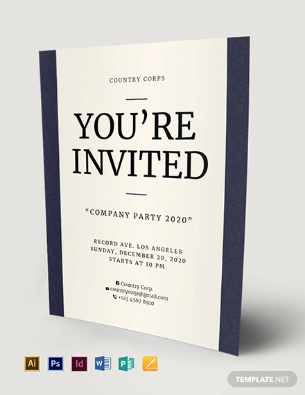 invitation flyer