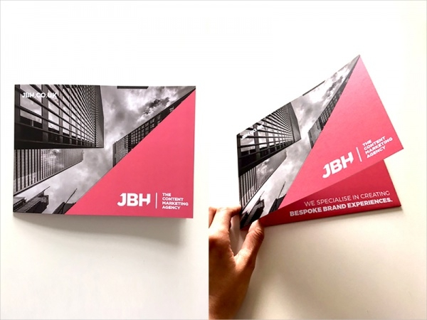 JBH Company Promotional Folder Brochure